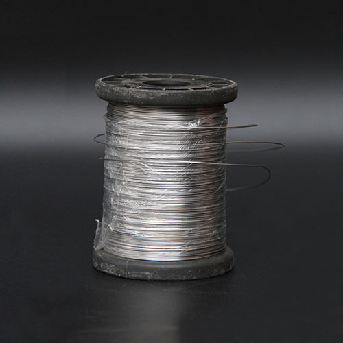 Reels of stainless steel wire